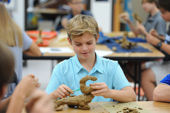 ms clay art figure | Westminster