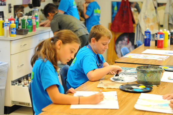 ls students painting | Westminster