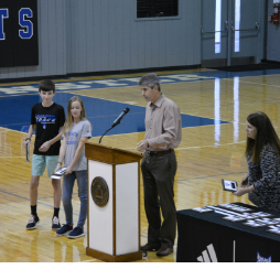 MS Fall Athletics Assembly  | Westminster