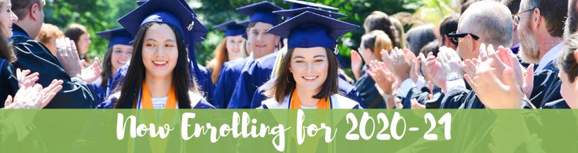 tab header: now enrolling 2019-20 | Westminster
