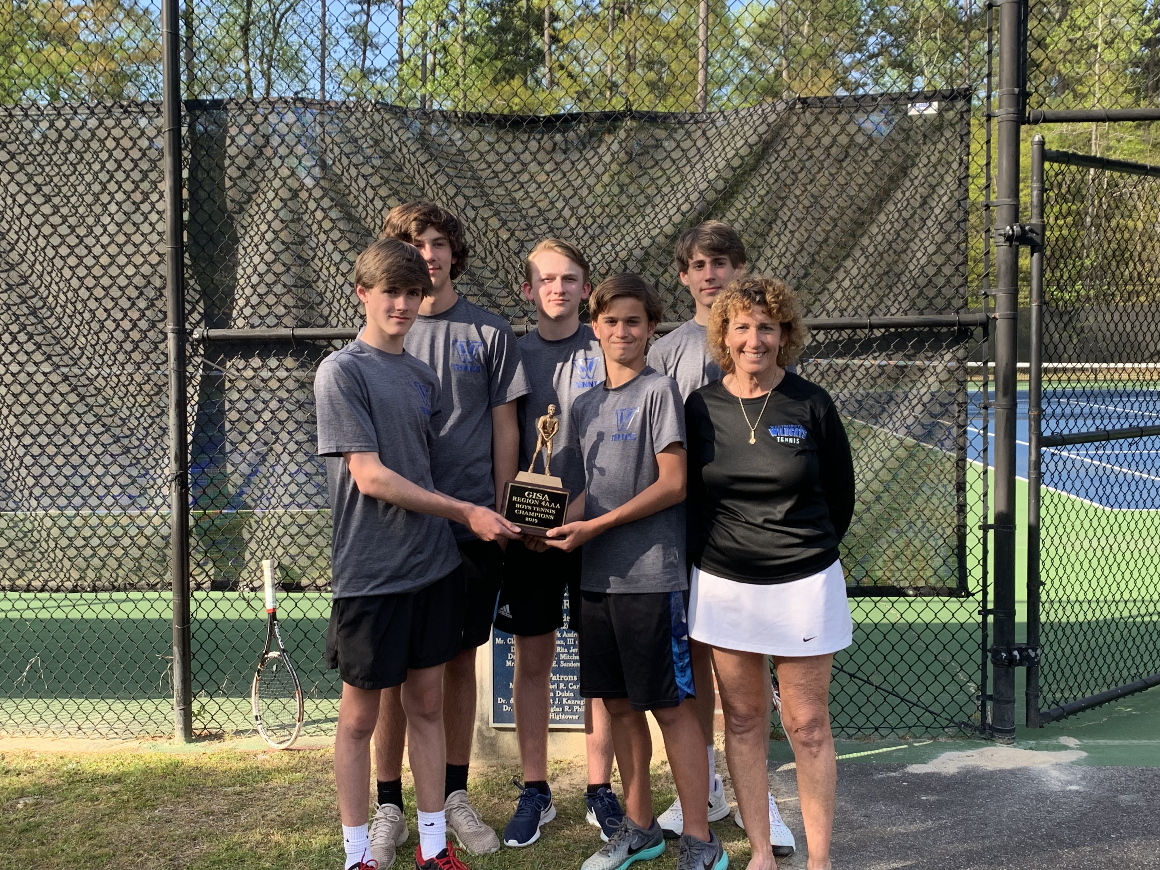 Athletics Photo: Boys Var Tennis Region Champs | Westminster