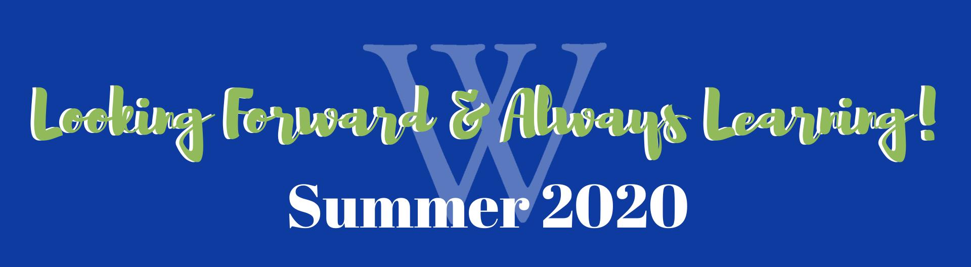 summer work header   Westminster