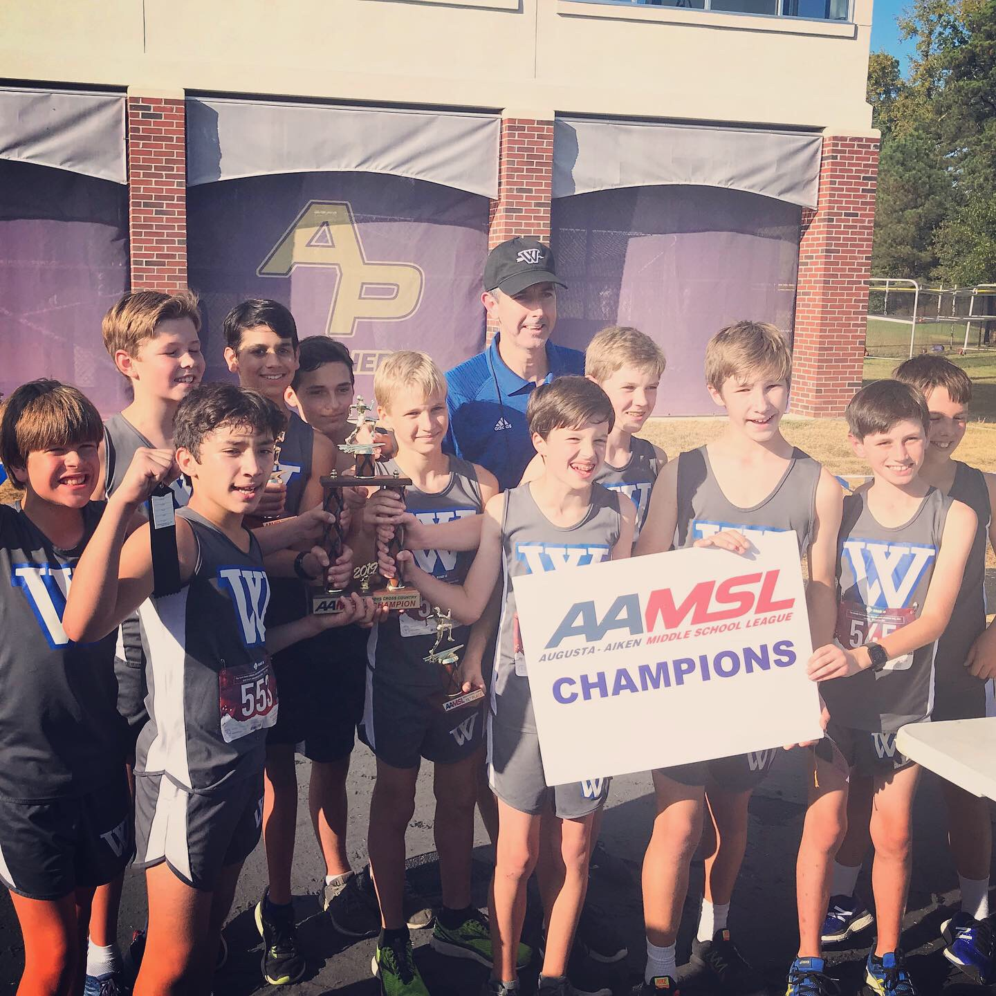Athletics Photo: MS Boys AAMSL | Westminster