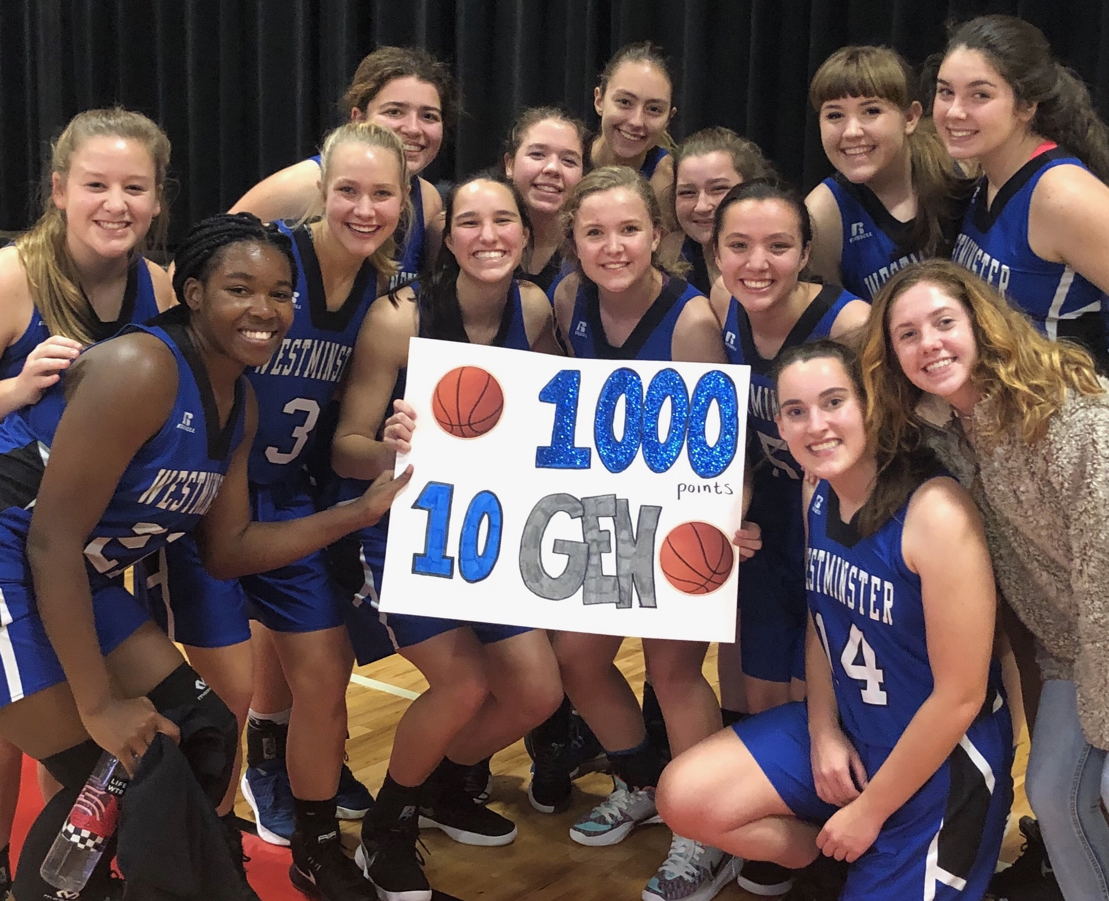 Athletics Photo: Waller 1000 pt | Westminster