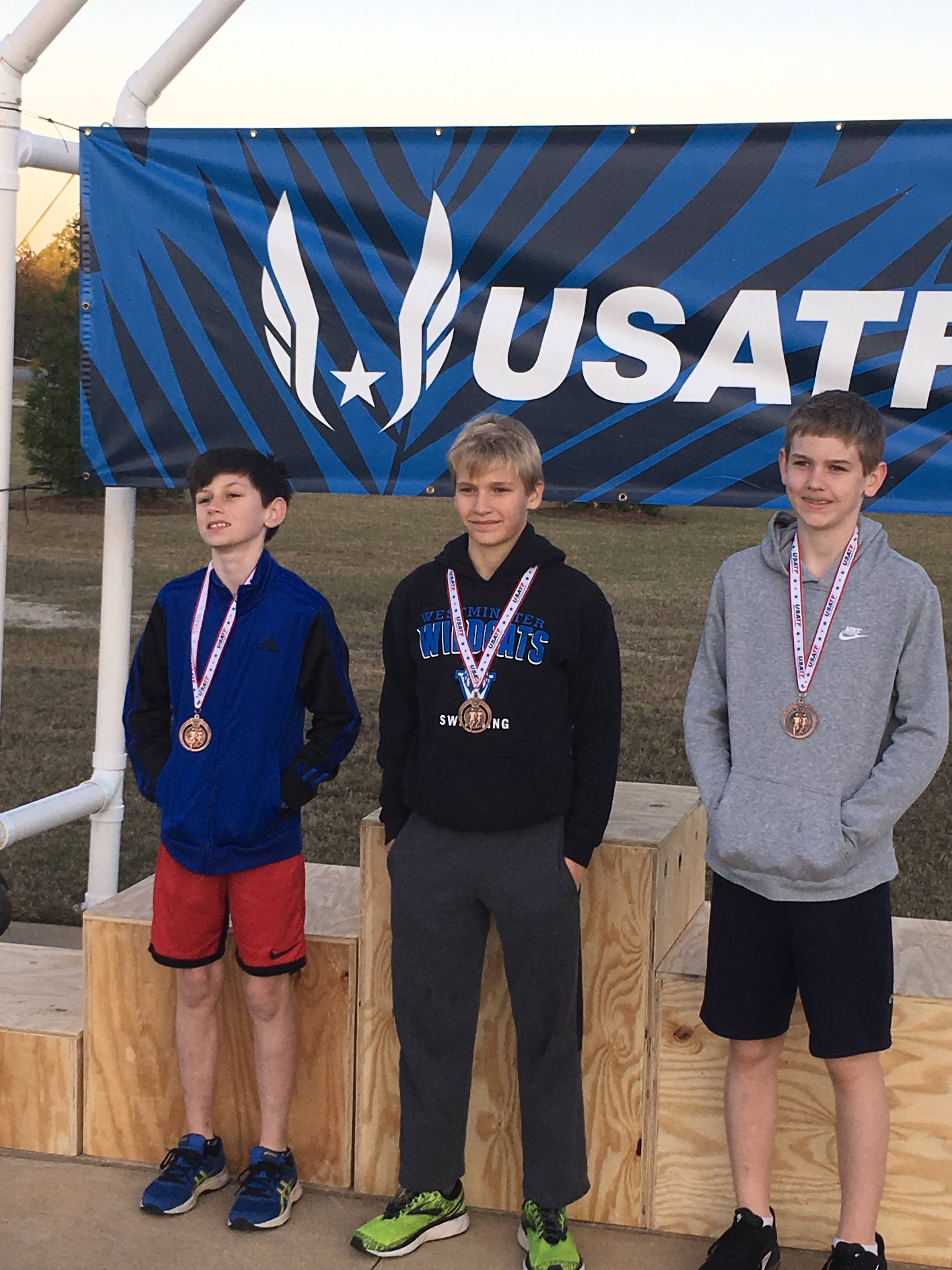 Athletics Photo: MS XC 3 boys state | Westminster