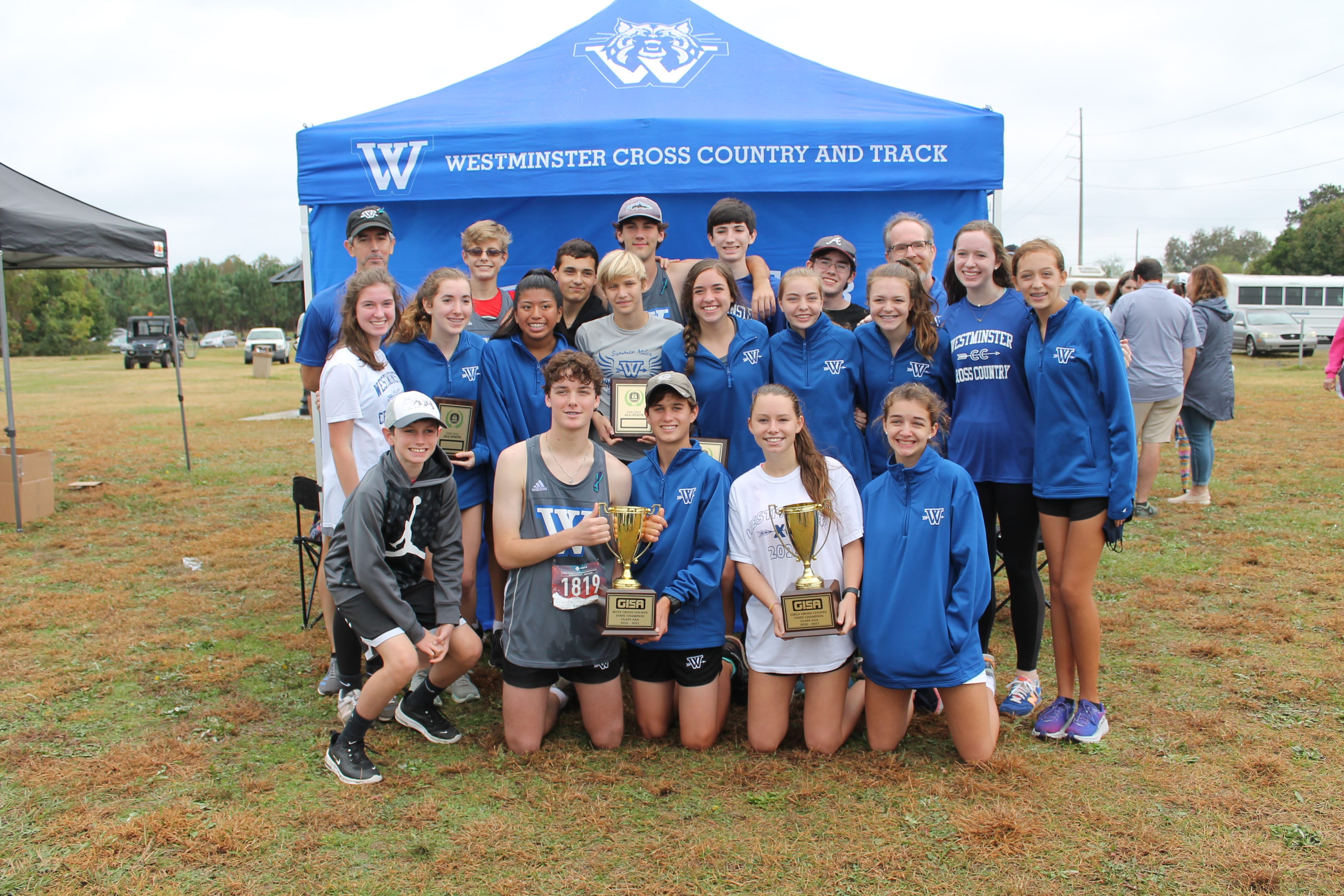 Athletics Photo: 2020 Boys & Girls Cross Country State Champions | Westminster
