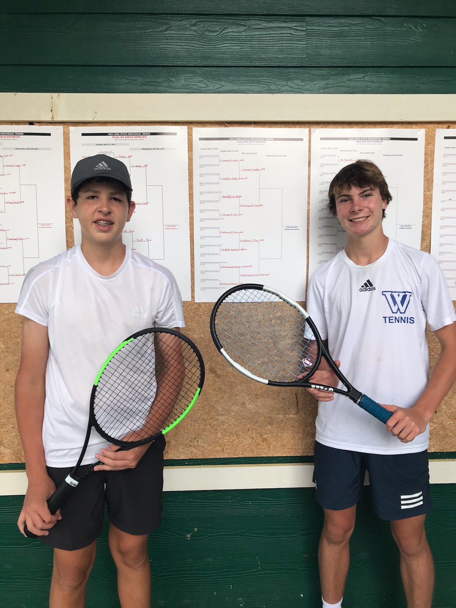 Athletics Photo: 2021 Tennis Ketterman/Perry | Westminster