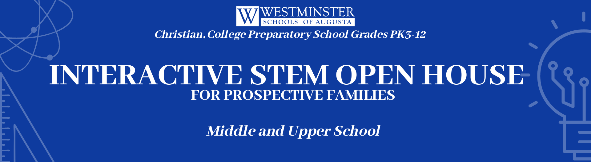Interactive Open House Banner | Westminster