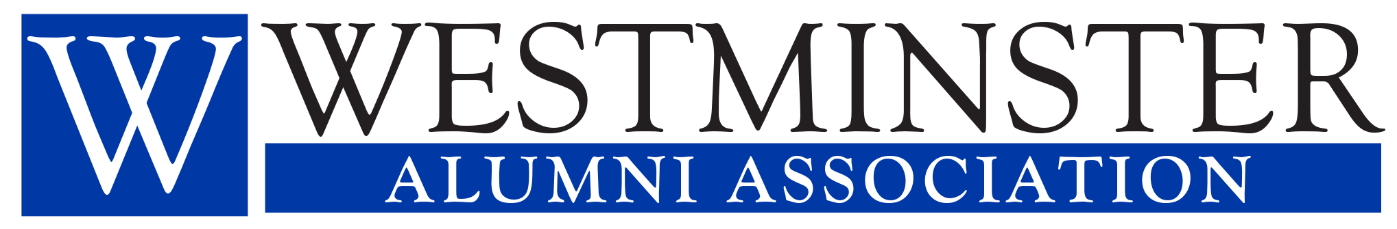 alumni association horizontal logo | Westminster