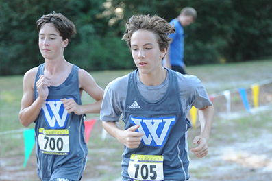 cross country image   Westminster