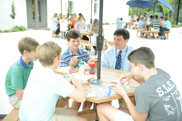 ms boys at lunch | Westminster