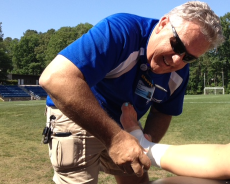 athletic trainer photo | Westminster